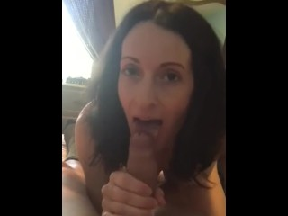 Joanie laurer sucking cock