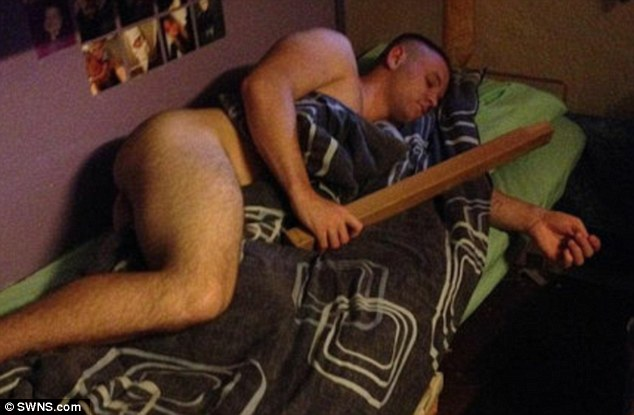 Passed out drunk gay fuck